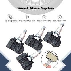 4 sztuk samochodów czujnik tpms opony monitorowanie ciśnienia czujnik systemu 9681102280 FW931A159AB FW93 1A159 AB 433Mhz dla Citroen C4 C5 C6 C8 w Systemy monitorowania ciśnienia w oponach od Samochody i motocykle na