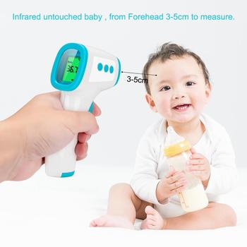 New Digital Thermometer Baby Child Adult Forehead Electronic Thermometer Non-contact Infrared Human Body Thermometer