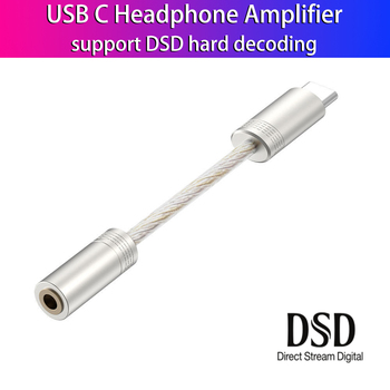 Portable Headphone Amplifier 600Ω ESS ES9280C PRO HPA DSD 128 USB Type C DAC Amp for Android Pixel SAMSUNG Huawei OnePlus Win10