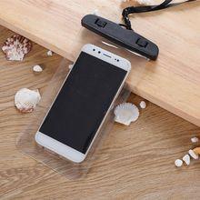 Abdichtung Wasserdichte Telefon Taschen mit Gurt Schützen Tasche Dry Pouch Schutzhülle Abdeckung 3,5 zoll-6 zoll Smart Telefon schwimmen Taschen