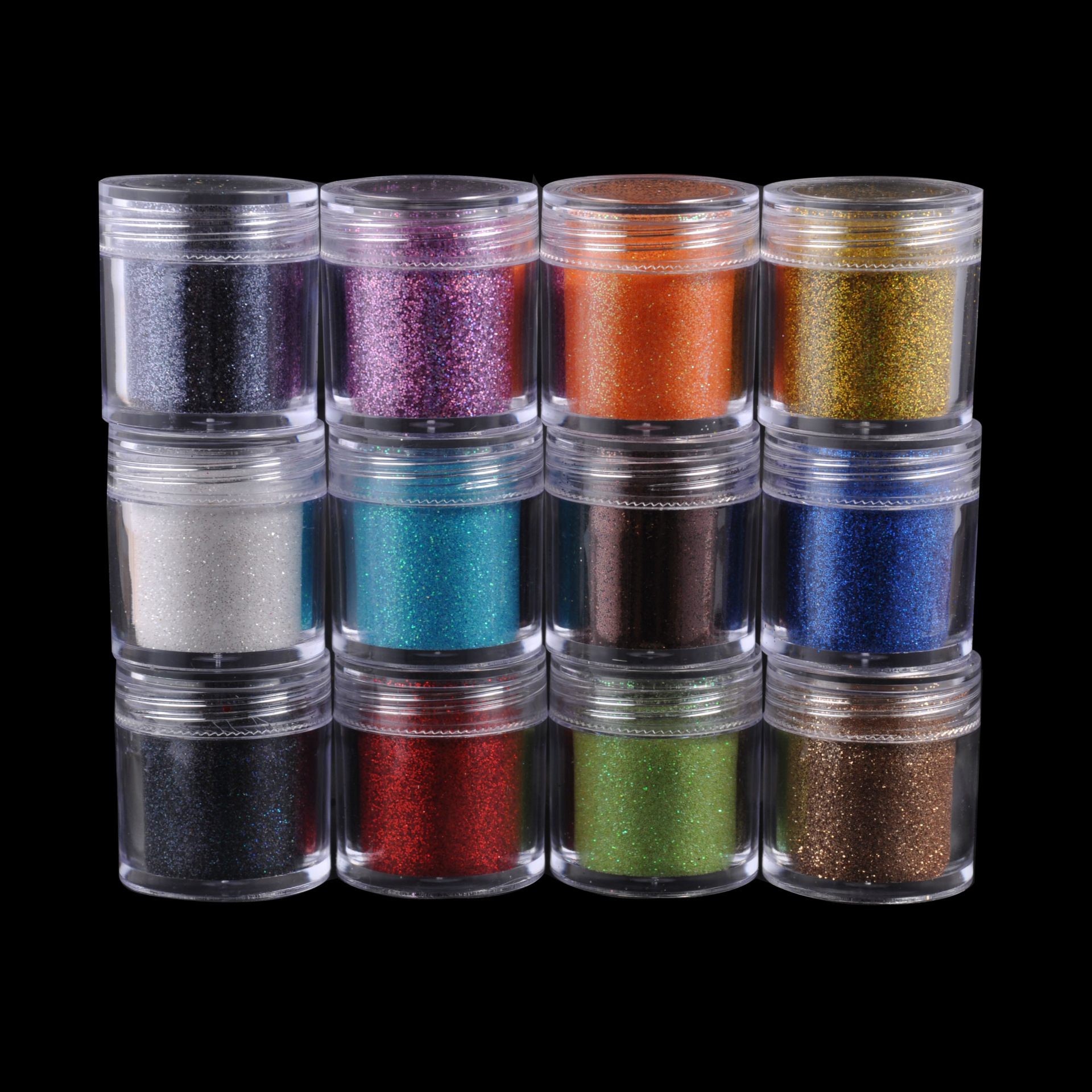 Best Nail Glitter Shiny Matte Shell Colorful Nail Art Pigment Dust Powder Manicure Nail Decorations P036