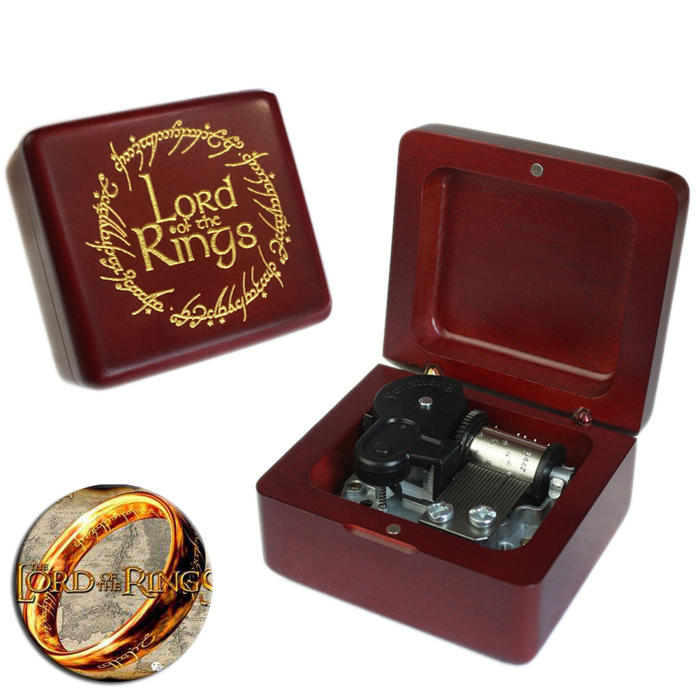 Christmas Gift Game of Thrones Engraved Wooden Retro Music Box Collection Fun US