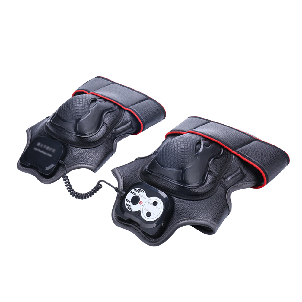 1 Pair Arthritis Knee Joint Massager Relaxing Easy Operate Portable Home Timing Pain Relief Physiotherapy Gift Heat Vibration