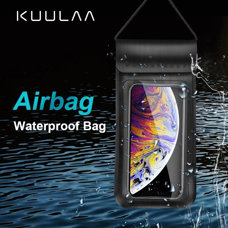 Водонепроницаемый чехол для телефона KUULAA, сумка для подводного телефона, чехол для дайвинга, сумка для Xiaomi iPhone Huawei Samsung| |   | АлиЭкспресс