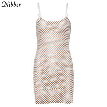 Nibber autumn club party night dress women bodycon stretch Slim Basic lace up mini dress summer high street casual dresses mujer