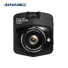 AOSHIKE جهاز تسجيل فيديو رقمي للسيارات كاميرا داشكام كامل HD 1080P مسجل فيديو وقوف السيارات مسجل G الاستشعار للرؤية الليلية حلقة تسجيل داش كام