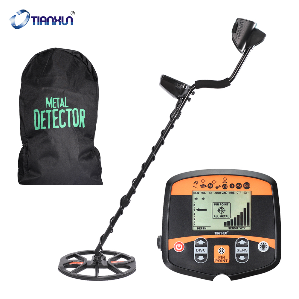 TIANXUN Professional Metal Detector Underground Depth Scanner Search Finder Treasure Hunter Detecting Pinpointer TX-960 & TX850