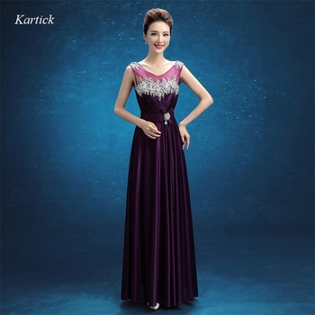 New Evening Dresses with Beading Elegant Backless Women Girls Dress Long Ball Prom Party Pageant Graduation Formal Dress/Gown