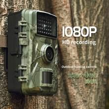 Avcılık kamera 1080P takip kamerası su geçirmez 12MP hayvan dedektörü izleme kızılötesi ısı algılama gece görüş İzcilik kamera