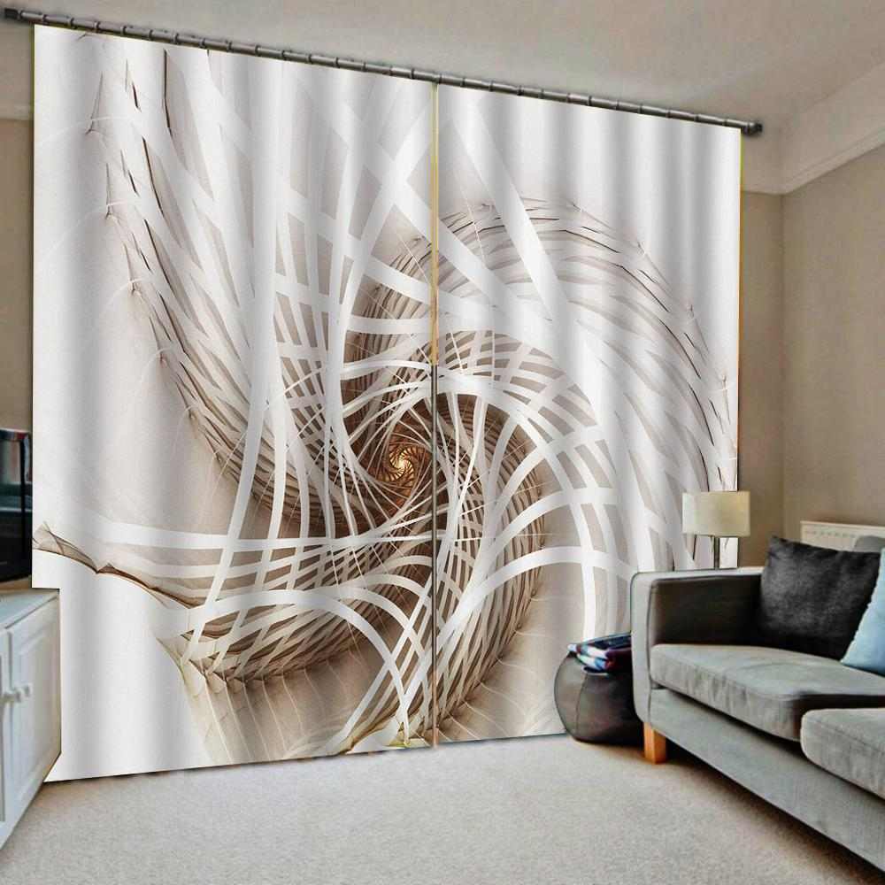 3D Living Room Bedroom Curtains European Fashion Room Curtains For Window Treatment Fashion Drapes Cortinas