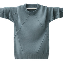 Baby Sweater Baby Clothes Sweater Baby Boy Clothes Children Boy Sweater Autumn and Winter Knitted Warm Clothes Children #8217 s Clothe cheap Active Cotton Acetate Full Fits true to size take your normal size Fleece Boys Solid Z2009041711 Regular O-Neck Shirts