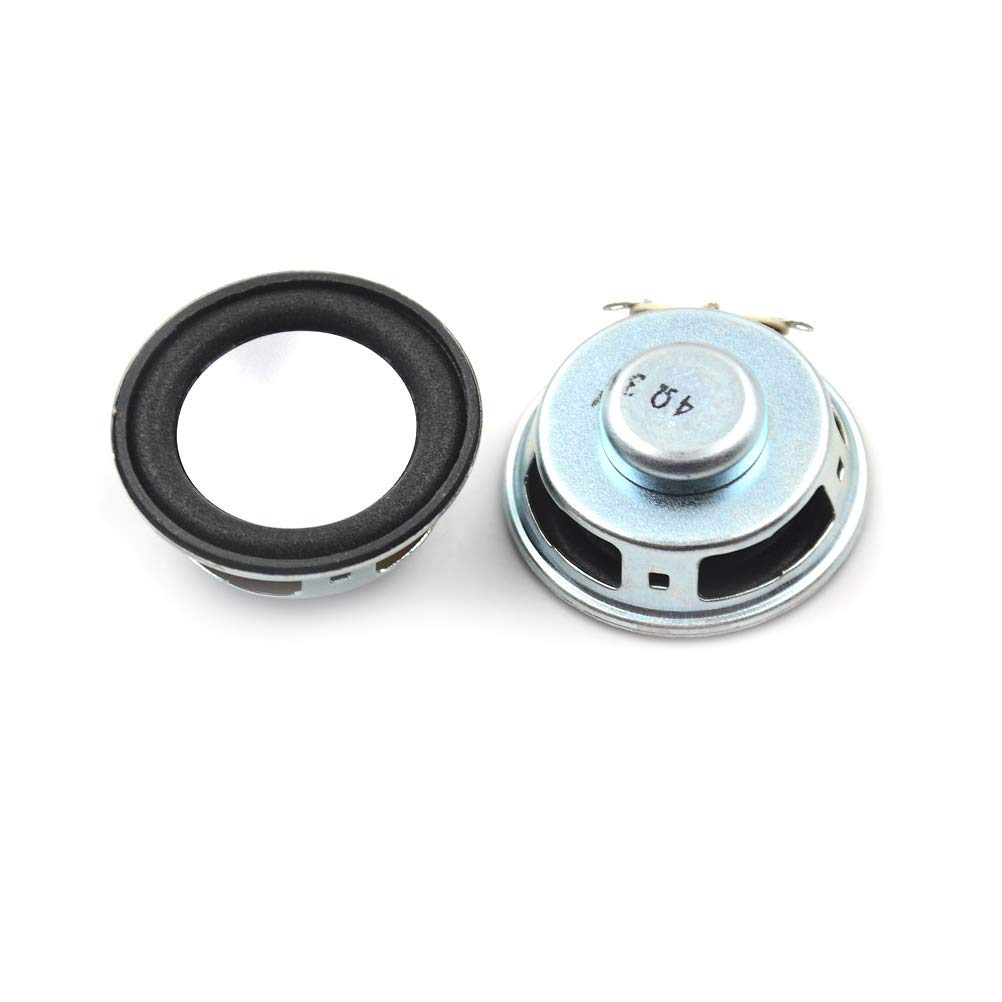 Mini Speaker Horn 3W 4R Diameter 5CM Mini Amplifier Rubber Gasket Loudspeaker Trumpet 3 Watt 4 Ohm 50mm Speakers For Arduino Kit