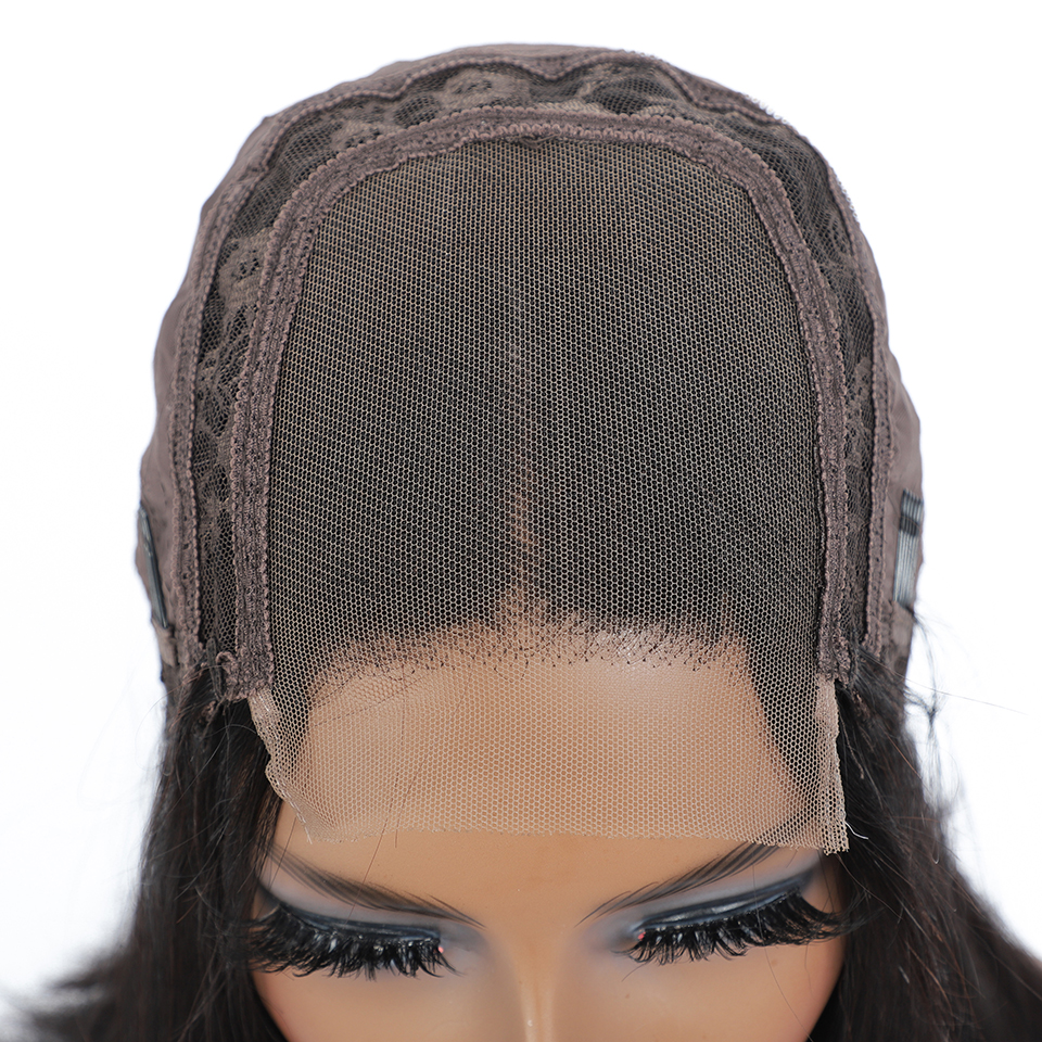 Wig Straight Short Bob Lace Front Wigs 4x4 Lace Front  Wigs Pre-plucked With Baby Hair  6
