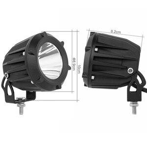 Image 2 - شريط إضاءة عمل Led مقاس 3.5 بوصة ، مصباح ضباب ، مصباح قيادة ، دراجة نارية ، 4x4 ، ATV ، SUV ، 12 فولت ، 24 فولت