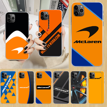 Mclaren Honda Phone Case cover For iphone 4 4S 5 5C 5S 6 6S PLUS 7 8 X XR XS 11 PRO SE 2020 MAX transparent hoesjes luxury image