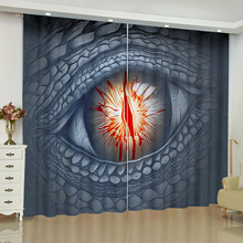 Game of Thrones Curtains for Window Blinds Finished Drapes Blackout Parlour Room