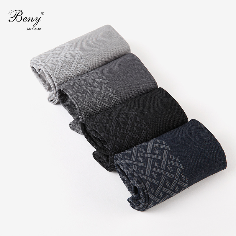 MEN'S Socks New Products 2018 Comfortable Cotton Jersey Gentlemen's Socks Twill Plaid Floral Men's Socks