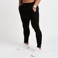 Nuevo gimnasio pantalones de entrenamiento de los hombres de correr con 2019 pantalones de otoño pantalones de Fitness Pantalones de deporte para hombre deportivos pantalones de chándal