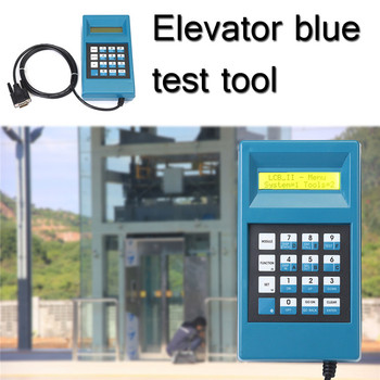 Elevator Server Debugging Tool Elevator Lift Blue Test Tool Conveyor Debugging Tool Double Line LCD Display Key Clearly
