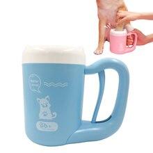 Щетка для чистки кошек и собак инструмент мытья лап Мягкий силикон