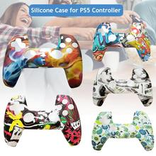 For PS5 Controller Silicone Case Gamepad Protective Cover For Playstation 5 Handle Joystick Anti-slip Protector Game Accessories