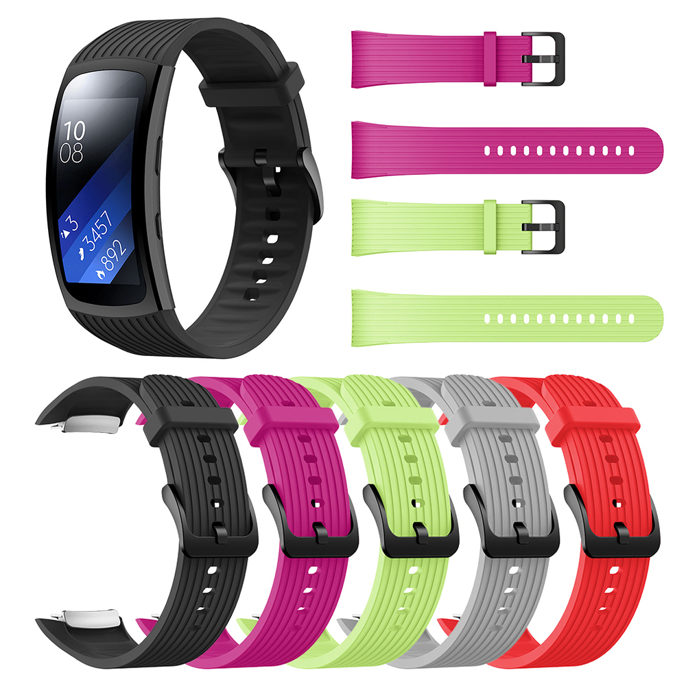 For Samsung Galaxy Gear Fit2 Pro Watch Band Wrist Bracelet Smartwatch For Gear Fit 2 SM-R36 Replacement Silicone Watchband Strap