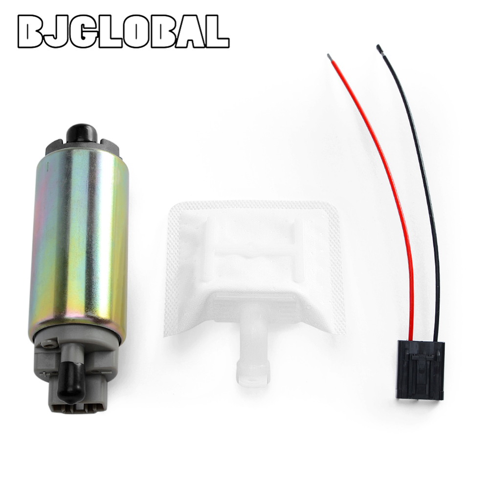 12V Electric Motorcycle Fuel Pump For Suzuki AN250 Burgman 250 <font><b>AN400</b></font> Burgman 400 VL1500 Boulevard C90 15110-14G00 15100-40H00 image