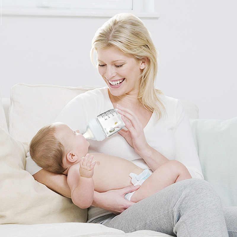 ทารกแรกเกิด Biberon 120ml เจาะ Glass Defense ขวดนมป้องกันท้องเฟ้อรายการวัสดุความปลอดภัยไม่มีสารอันตราย