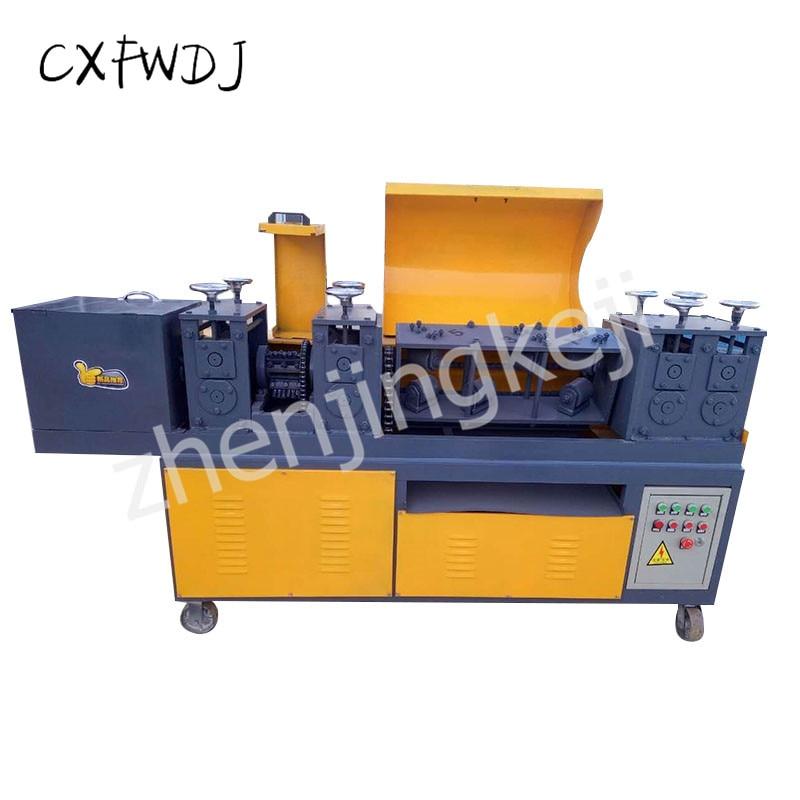 Máquina de endireitamento da tubulação de aço do cnc máquina de endireitamento da tubulação de aço do andaime