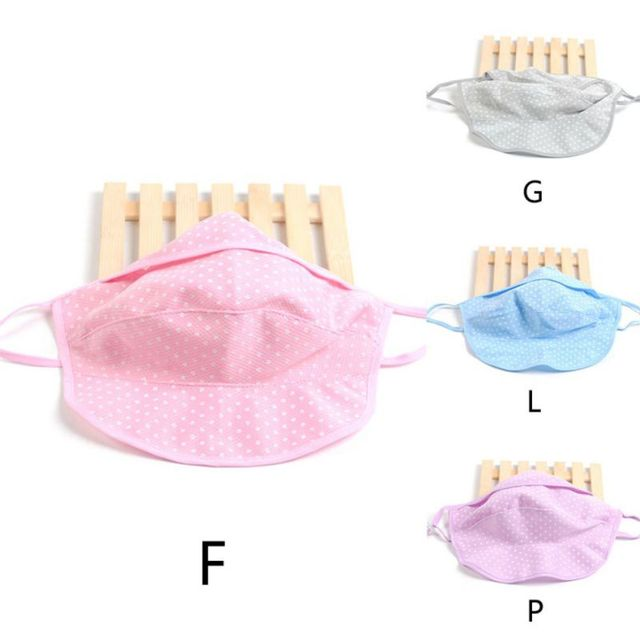 Summer Dust Masks Dots Fashion Breathable Sunscreen Neck Protective UV Masks Unisex 1