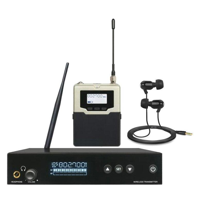 Finlemho profesjonalny sprzęt Audio w ucho monitorowania bezprzewodowy System pojedynczy nadajnik do konsoleta DJ głośnik z liniową matrycą sprzęt M520