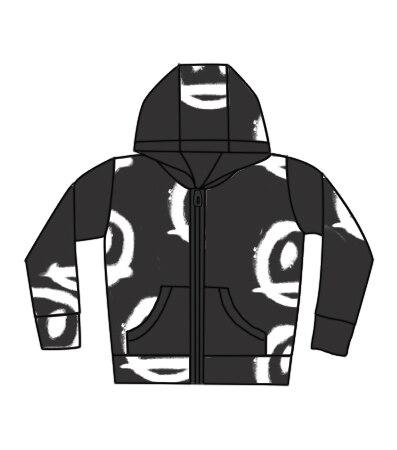 Kids Sweatshirt NX Brand 2021 New Autumn Winter Boys Girls Skull Print Long Sleeve Jacket Baby T Shirts Hoodies Children Clothes 3