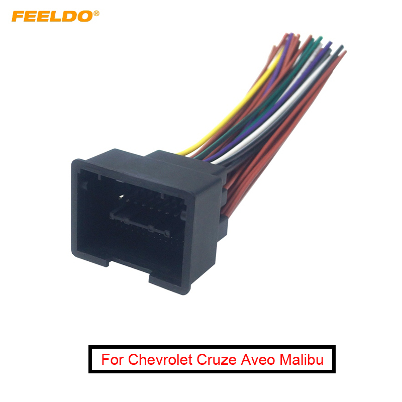 [SCHEMATICS_48EU]  FEELDO Car Radio Audio 44Pin Installation Wiring Harness Adapter For  Chevrolet Cruze Aveo Malibu ISO Stereo Cable|Cables, Adapters & Sockets| -  AliExpress | Chevrolet Audio Wiring |  | AliExpress