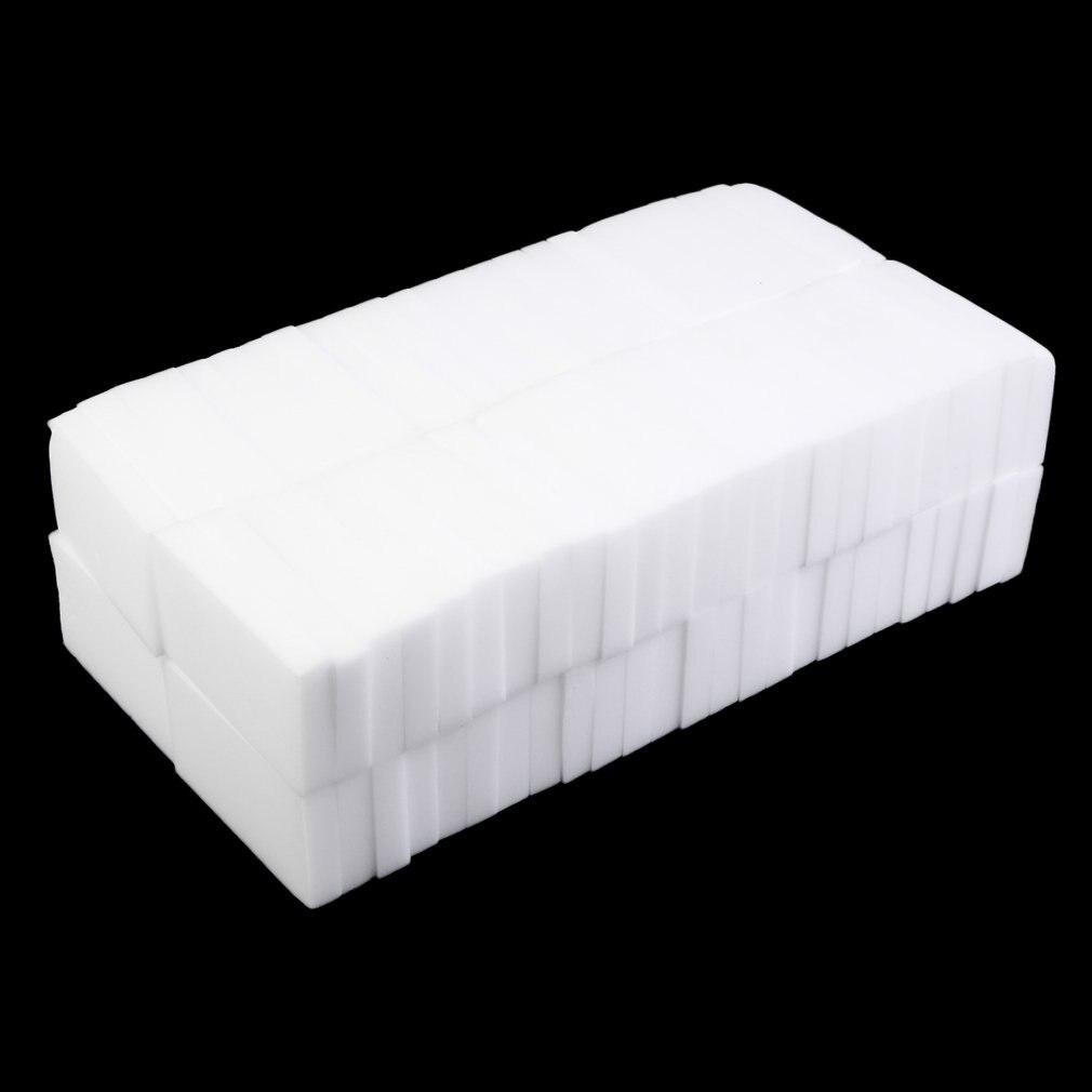 100pcs Branco Multi-funcional Magia Esponja de Limpeza para Limpar a Pia Geladeira Gama Capô 100x60x15mm HFing