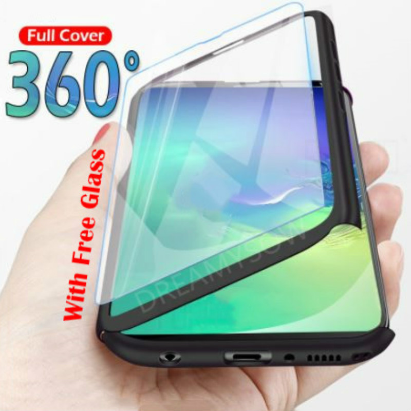 Case For Samsung Galaxy A70 A60 A50 A40 A30 A20 S10 E S9 S8 Plus S7 S6 Edge J3 J5 J7 A7 A5 A3 2017 360 Full Protection Capa Case