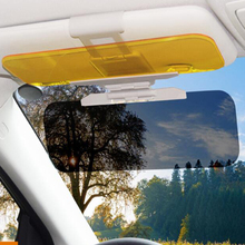 Auto Sonnenblende HD Anti Sonnenlicht Dazzling Goggle Tag Nacht Vision Rückspiegel UV Falten Flip Unten Clear View Innen spiegel