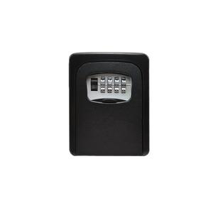 Image 5 - MH901 מפתח אחסון מנעול תיבת קיר רכוב מפתח מנעול תיבה עם 4 ספרות שילוב עבור בית מפתחות רכב מפתחות עבור בית משרד B & B