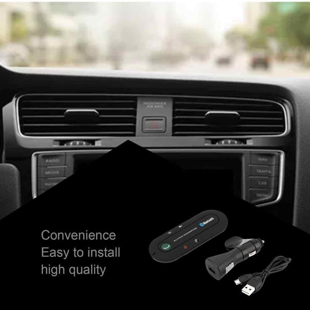 Nueva visera de coche a bordo altavoz teléfono de coche manos libres auricular inalámbrico portátil