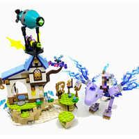 30017 Elfen Serie Aira & Lied von der Wind Drachen Modell Baustein Ziegel Spielzeug Geschenke Kompatibel Mit Elfen 41193