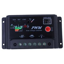 30A Solar Charge Controller Pwm Mode Solar Street Light Controller Intelligent Portable Solar Charge And Discharge Controller стоимость
