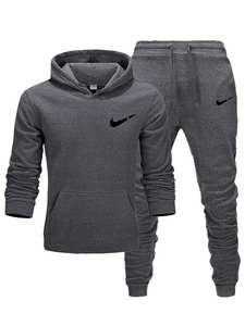 Tracksuit for men 2 sets of new fashion jacket men's sportswear Hoodie spring and autumn