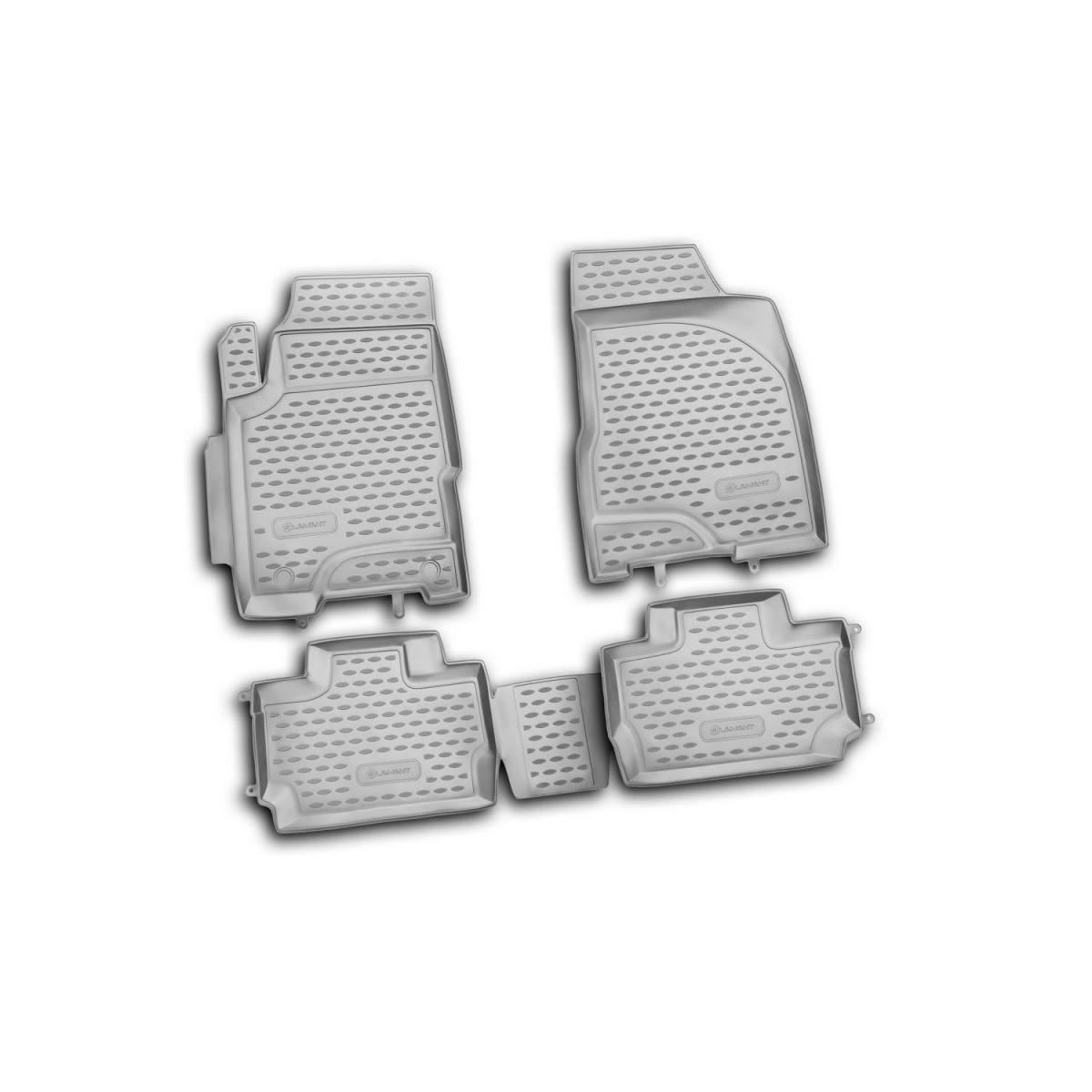 Floor mats for <font><b>Chery</b></font> <font><b>A13</b></font>, 2010-4 PCs (PU) (<font><b>bonus</b></font>) image