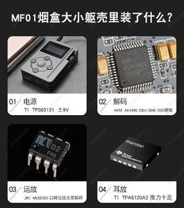 Image 4 - مشغل واي فاي مستعمل MF01 AK4490 فك ترميز موسيقى بلا فقدان محمول DSD يدعم مخرج السيارة