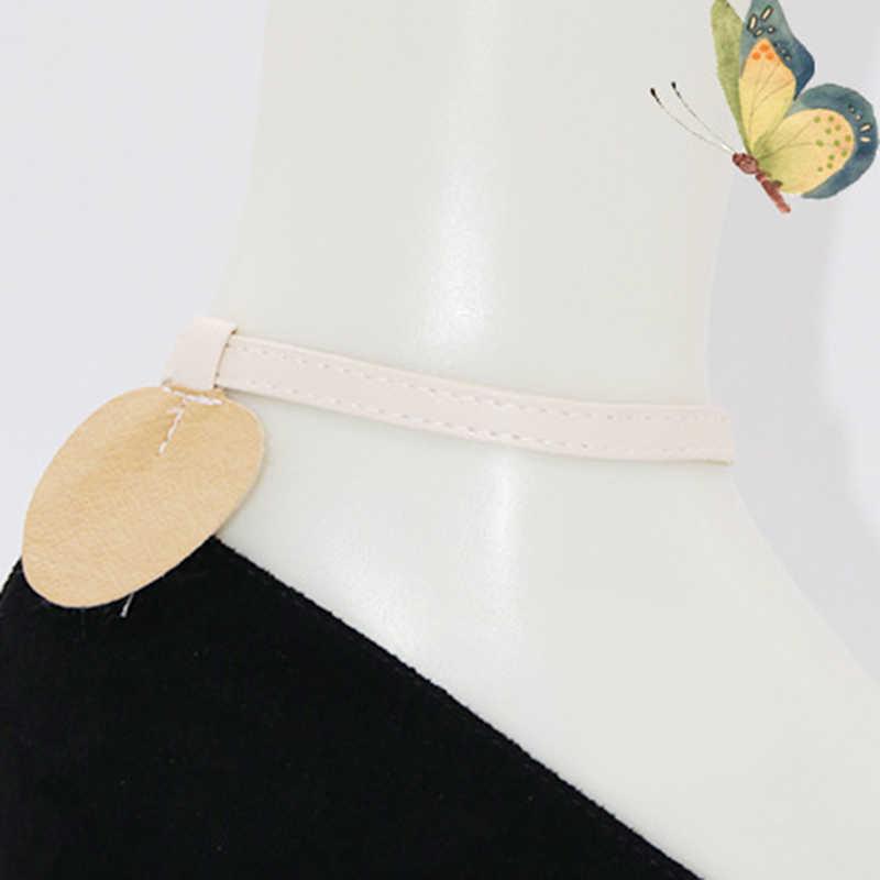 ร้อนสามเหลี่ยม Bundle เชือกผูกรองเท้าสำหรับรองเท้าส้นสูง Anti-Skid รองเท้าผู้หญิงรองเท้าเข็มขัดข้อเท้ารองเท้า Tie DIY รองเท้าทำด้วยมือเข็มขัด