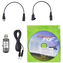 22 в 1 Дрон практичные аксессуары для хобби Легкая установка симулятор на радиоуправлении спасенная игрушка с кабелем USB для RealFlight G7
