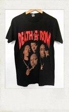 Death row records inspire camiseta vintage tamanho s-to-xxxlmens-t-shirt-impresso moda t camisa 100% algodão