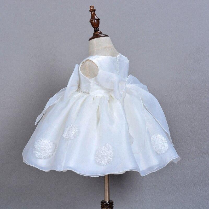 0-2Y Toddler Baby Girl Christening Wedding Birthday Party Princess Organza Dress