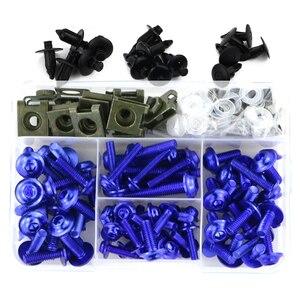 Image 3 - Pełne owiewki zestaw śrub śruby zestaw zapięć dla Ducati Monster 695 696 potwór 796 797 potwór 821 1200 potwór 1200S 1200R