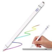 touch pen replacement pen 2pcs pencil cap Magnetic Tip Stylus pencil  for iPad Pro 10.5 9.712.9 Pen case Replacement  cap Accessory 2019 smart touch pen (2)