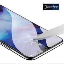 Haute qualité couverture complète verre trempé pour iPhone XS Max XR X 8 7 6 6S Plus 5S Film protecteur décran verre 100 pièces/lot en gros